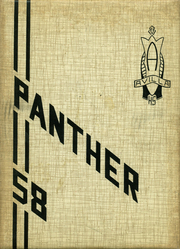 1958 Edition, Avilla High School - Panther Yearbook (Avilla, IN)