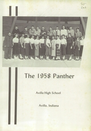 Page 5, 1958 Edition, Avilla High School - Panther Yearbook (Avilla, IN) online yearbook collection