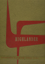 1959 Edition, Mount Summit High School - Highlander Yearbook (Mount Summit, IN)
