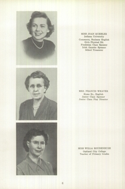 Page 10, 1951 Edition, Ireland High School - Irishite Yearbook (Ireland, IN) online yearbook collection
