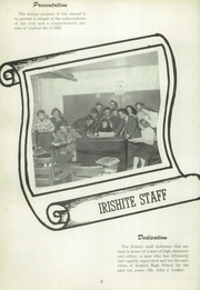 Page 6, 1952 Edition, Ireland High School - Irishite Yearbook (Ireland, IN) online yearbook collection