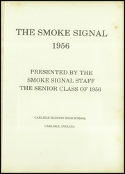 Page 5, 1956 Edition, Carlisle Haddon High School - Smoke Signal Yearbook (Carlisle, IN) online yearbook collection