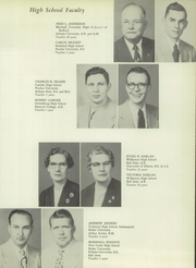 Page 13, 1954 Edition, Wilkinson High School - Bulldog Yearbook (Wilkinson, IN) online yearbook collection