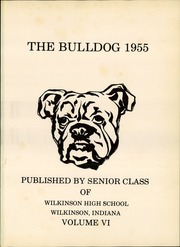 Page 5, 1955 Edition, Wilkinson High School - Bulldog Yearbook (Wilkinson, IN) online yearbook collection