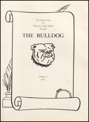 Page 5, 1958 Edition, Wilkinson High School - Bulldog Yearbook (Wilkinson, IN) online yearbook collection