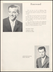 Page 7, 1958 Edition, Wilkinson High School - Bulldog Yearbook (Wilkinson, IN) online yearbook collection