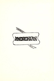 Page 9, 1923 Edition, Andrews High School - Andronian Yearbook (Andrews, IN) online yearbook collection
