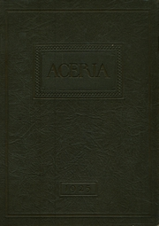 1925 Edition, Waynetown High School - Aceria Yearbook (Waynetown, IN)