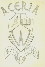 1956 Edition, Waynetown High School - Aceria Yearbook (Waynetown, IN)