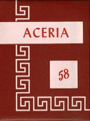 1958 Edition, Waynetown High School - Aceria Yearbook (Waynetown, IN)