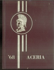 1968 Edition, Waynetown High School - Aceria Yearbook (Waynetown, IN)