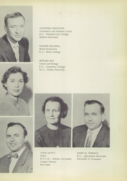 Page 11, 1956 Edition, North Central High School - Echo Yearbook (Ramsey, IN) online yearbook collection