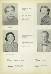 Page 16, 1956 Edition, North Central High School - Echo Yearbook (Ramsey, IN) online yearbook collection