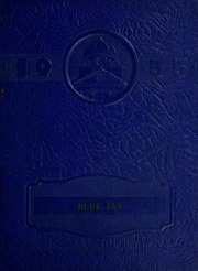 1955 Edition, New Ross High School - Blue Jay Yearbook (New Ross, IN)
