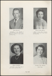 Page 10, 1951 Edition, Waveland High School - Hornets Nest Yearbook (Waveland, IN) online yearbook collection