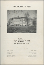 Page 3, 1951 Edition, Waveland High School - Hornets Nest Yearbook (Waveland, IN) online yearbook collection