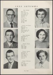 Page 10, 1953 Edition, Waveland High School - Hornets Nest Yearbook (Waveland, IN) online yearbook collection