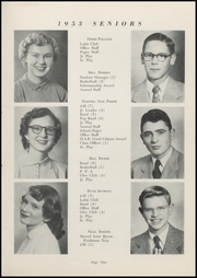 Page 11, 1953 Edition, Waveland High School - Hornets Nest Yearbook (Waveland, IN) online yearbook collection