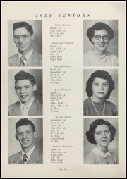 Page 12, 1953 Edition, Waveland High School - Hornets Nest Yearbook (Waveland, IN) online yearbook collection