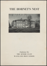 Page 3, 1953 Edition, Waveland High School - Hornets Nest Yearbook (Waveland, IN) online yearbook collection