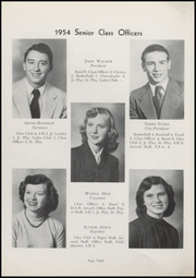 Page 10, 1954 Edition, Waveland High School - Hornets Nest Yearbook (Waveland, IN) online yearbook collection