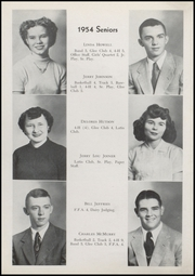 Page 12, 1954 Edition, Waveland High School - Hornets Nest Yearbook (Waveland, IN) online yearbook collection
