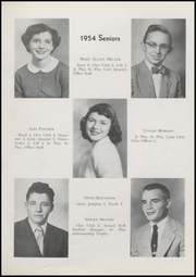 Page 13, 1954 Edition, Waveland High School - Hornets Nest Yearbook (Waveland, IN) online yearbook collection