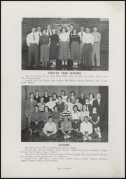 Page 16, 1954 Edition, Waveland High School - Hornets Nest Yearbook (Waveland, IN) online yearbook collection