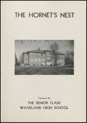Page 3, 1954 Edition, Waveland High School - Hornets Nest Yearbook (Waveland, IN) online yearbook collection