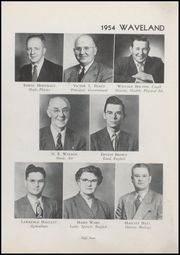 Page 6, 1954 Edition, Waveland High School - Hornets Nest Yearbook (Waveland, IN) online yearbook collection