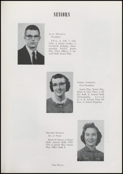 Page 13, 1957 Edition, Waveland High School - Hornets Nest Yearbook (Waveland, IN) online yearbook collection