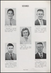 Page 14, 1957 Edition, Waveland High School - Hornets Nest Yearbook (Waveland, IN) online yearbook collection