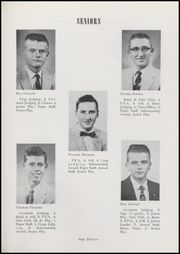 Page 15, 1957 Edition, Waveland High School - Hornets Nest Yearbook (Waveland, IN) online yearbook collection