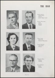 Page 8, 1957 Edition, Waveland High School - Hornets Nest Yearbook (Waveland, IN) online yearbook collection