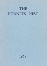 1958 Edition, Waveland High School - Hornets Nest Yearbook (Waveland, IN)