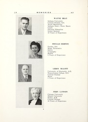 Page 16, 1945 Edition, Amo High School - Amoace Yearbook (Amo, IN) online yearbook collection