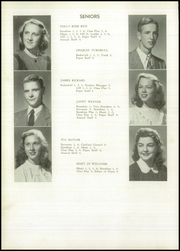 Page 16, 1948 Edition, Galveston High School - Galvestonian Yearbook (Galveston, IN) online yearbook collection