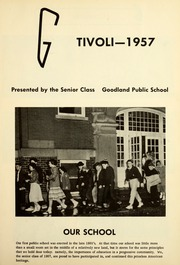 Page 5, 1957 Edition, Goodland High School - Tivoli Yearbook (Goodland, IN) online yearbook collection