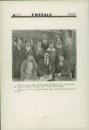 Page 10, 1924 Edition, Greentown High School - Emerald Yearbook (Greentown, IN) online yearbook collection