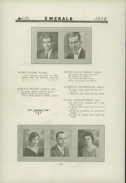 Page 14, 1924 Edition, Greentown High School - Emerald Yearbook (Greentown, IN) online yearbook collection