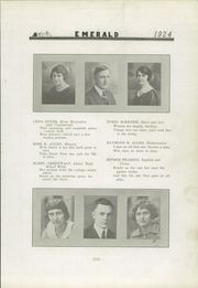 Page 15, 1924 Edition, Greentown High School - Emerald Yearbook (Greentown, IN) online yearbook collection