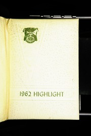 1962 Edition, Dayton High School - Highlights Yearbook (Dayton, IN)