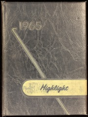 1965 Edition, Dayton High School - Highlights Yearbook (Dayton, IN)