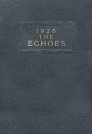 Page 1, 1926 Edition, Perrysville High School - Echoes Yearbook (Perrysville, IN) online yearbook collection