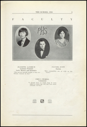 Page 15, 1926 Edition, Perrysville High School - Echoes Yearbook (Perrysville, IN) online yearbook collection