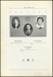Page 16, 1926 Edition, Perrysville High School - Echoes Yearbook (Perrysville, IN) online yearbook collection