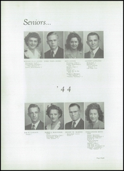 Page 10, 1944 Edition, Perrysville High School - Echoes Yearbook (Perrysville, IN) online yearbook collection