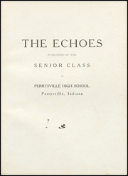 Page 5, 1946 Edition, Perrysville High School - Echoes Yearbook (Perrysville, IN) online yearbook collection