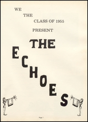 Page 5, 1955 Edition, Perrysville High School - Echoes Yearbook (Perrysville, IN) online yearbook collection