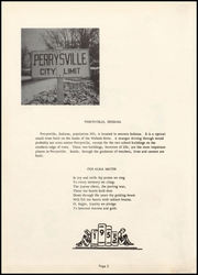Page 6, 1955 Edition, Perrysville High School - Echoes Yearbook (Perrysville, IN) online yearbook collection